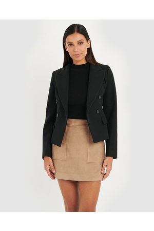 Forcast Cleo Cropped Jacket - Blazers Cleo Cropped Jacket