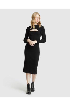Oxford Women Bodycon Dresses - Kirsten Cut Out Dress - Bodycon Dresses Kirsten Cut Out Dress
