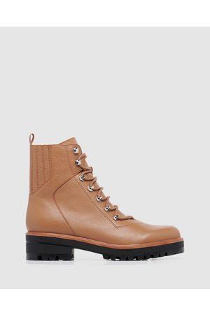 Nine West Ivani - Boots (DARK CARAMEL) Ivani