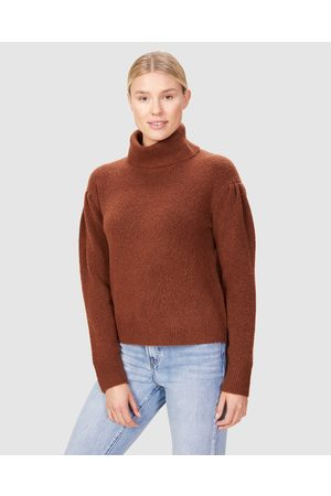 French Connection Balloon Sleeve Knit - Jumpers & Cardigans (CASABLANCA) Balloon Sleeve Knit