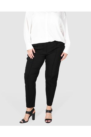 Love Your Wardrobe Darby Pintuck Stretch Pants - Pants Darby Pintuck Stretch Pants