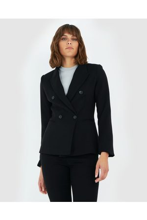 Forcast Davina Double Breasted Blazer - Suits & Blazers Davina Double Breasted Blazer