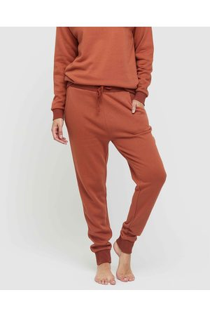 Bamboo Body Women Sweatshirts - Bamboo Slouch Trackpant - Sweats (Spice) Bamboo Slouch Trackpant