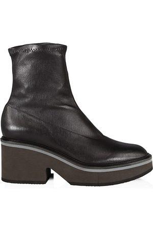 Robert Clergerie Albane Leather Platform Boots
