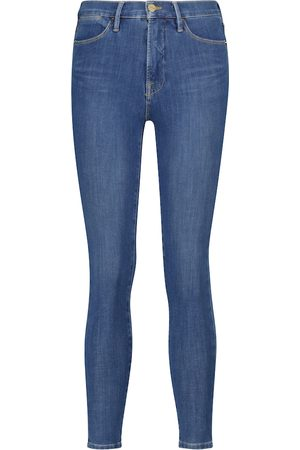 Frame 24 Hour high-rise skinny jeans