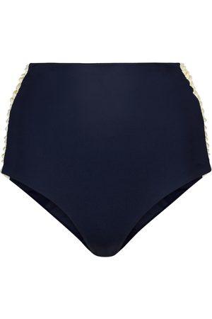 JOHANNA ORTIZ Kakadu high-rise bikini bottoms