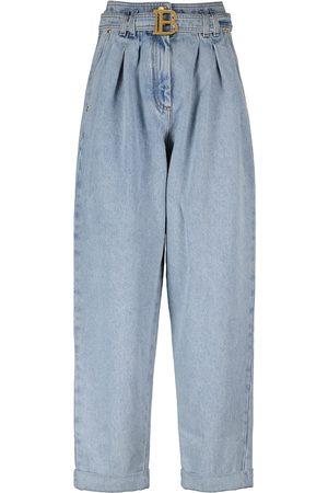 Balmain High-rise boyfriend jeans