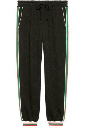Gucci Men Sports Pants - GG jacquard jersey jogging trousers