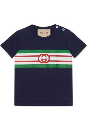 Gucci Baby polo shirt with Interlocking G