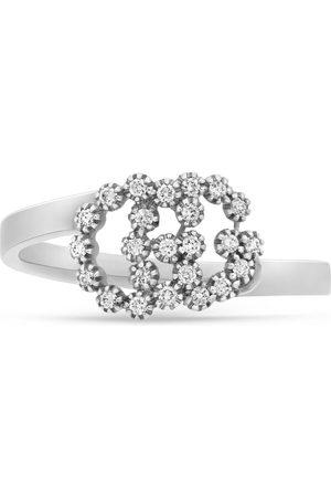 Gucci Women Rings - GG Running 18k ring with diamonds