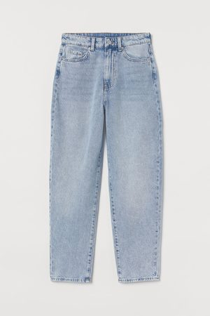 H&M Women Jeans - Mom Loose-fit Ultra High Jeans