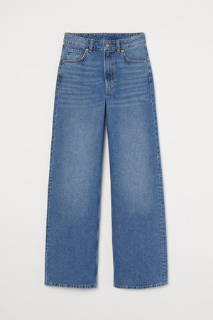 H & M Wide High Jeans