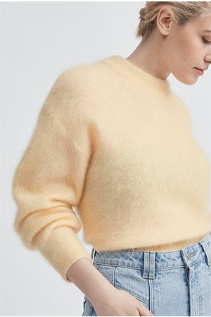 WITCHERY Women Sweaters - Mohair Slouch Knit