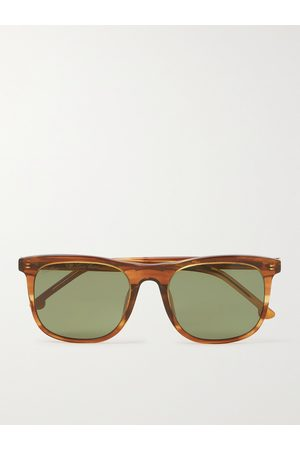 LORO PIANA Traveller 53 Square-Frame Acetate Sunglasses