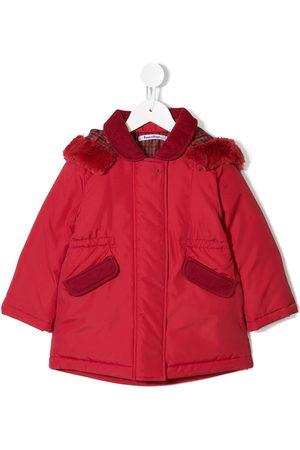 Familiar Padded hooded jacket