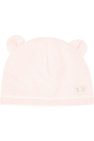 Familiar Teddy bear knitted hat