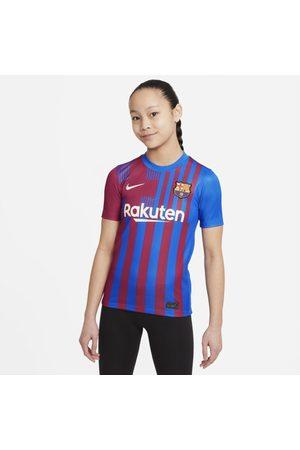Nike Shirts - F.C. Barcelona 2021/22 Stadium Home Older Kids' Football Shirt