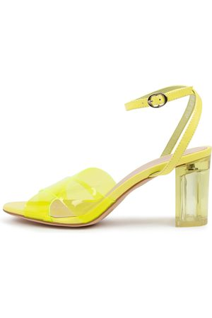 Mollini Polie Mo Neon Sandals Womens Shoes Casual Heeled Sandals