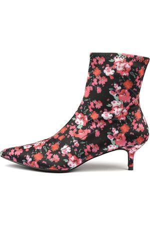 TRES JOLIE Christie Tr Floral Boots Womens Shoes Dress Ankle Boots