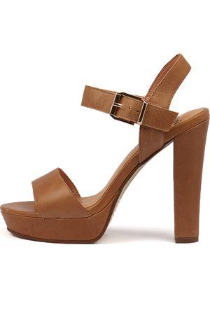 Mollini Women Heeled Sandals - Martyne Tan Sandals Womens Shoes Dress Heeled Sandals