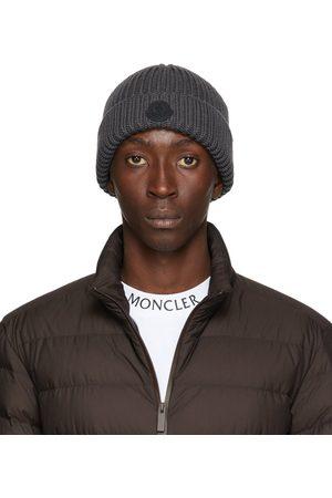 Moncler Men Beanies - Knit Wool Beanie