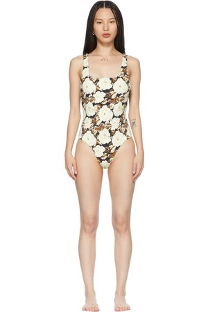 SIR Off- Carlo Square One-Piece Swimsuit