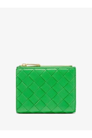 Bottega Veneta Intrecciato-leather Wallet - Womens