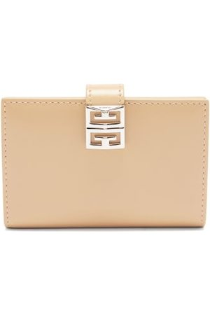 Givenchy 4g Leather Bi-fold Wallet - Womens