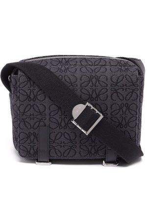 Loewe Anagram-jacquard Canvas Cross-body Bag - Mens