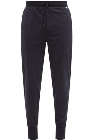 Paul Smith Artist-stripe Cotton-jersey Pyjama Trousers - Mens - Navy