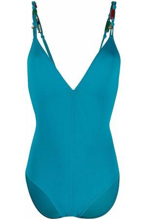 ERES Rear tie-fastening swimsuit
