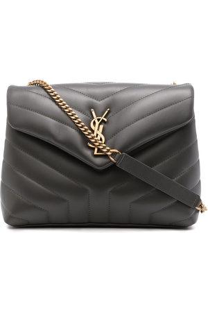 Saint Laurent Women Shoulder Bags - Loulou logo-plaque shoulder bag