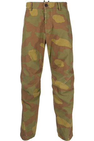 Dsquared2 Men Cargo Pants - Camouflage cargo trousers