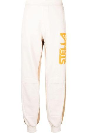 Stella McCartney Women Joggers - Logo-print colour-block track pants