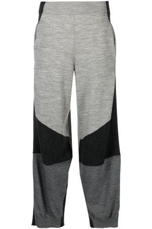 Stella McCartney Women Pants - Colour-block knitted trousers