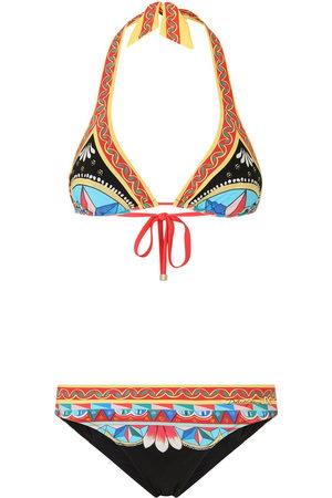 Dolce & Gabbana Graphic-print bikini