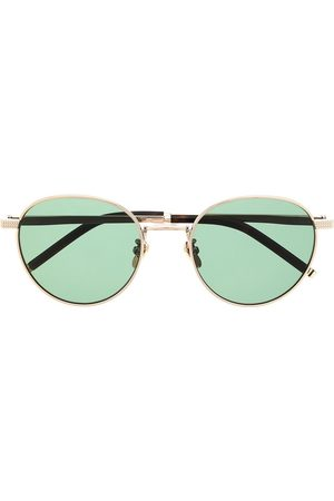 MULBERRY Stevie round-frame sunglasses