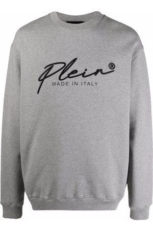 Philipp Plein Men Sweatshirts - Signature logo-print sweatshirt