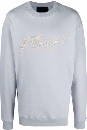 Philipp Plein Embroidered signature logo sweatshirt