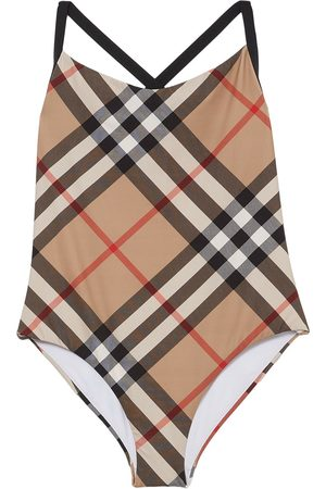 Burberry Vintage Check swimsuit