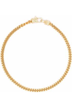 TOM WOOD Bracelets - Curb M -plated sterling silver bracelet