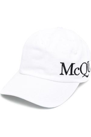 Alexander McQueen Logo-embroidered baseball cap