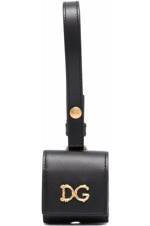 Dolce & Gabbana Logo-plaque Airpods case