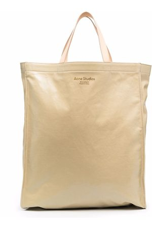 Acne Studios Tote Bags - High-shine tote bag