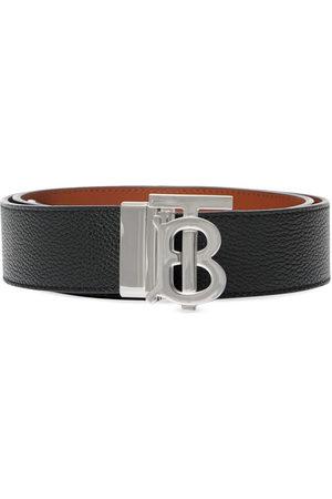 Burberry Monogram detail buckled belt