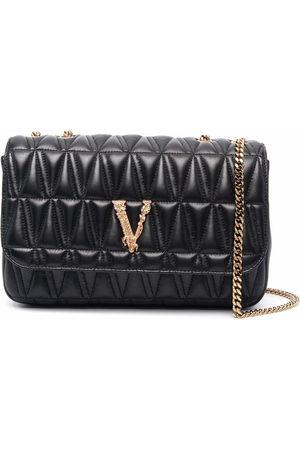 VERSACE Women Shoulder Bags - Virtus quilted shoulder bag