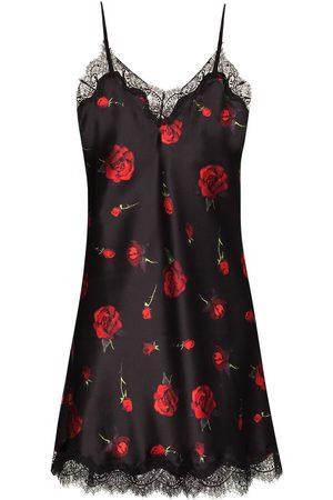 Sainted Sisters Falling rose pattern nightdress