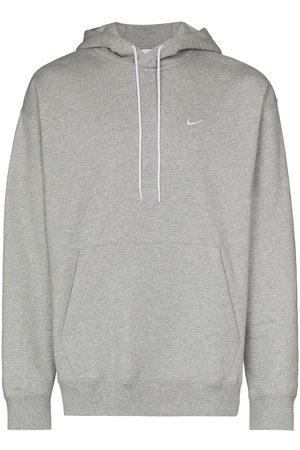 Nike Swoosh logo drawstring hoodie