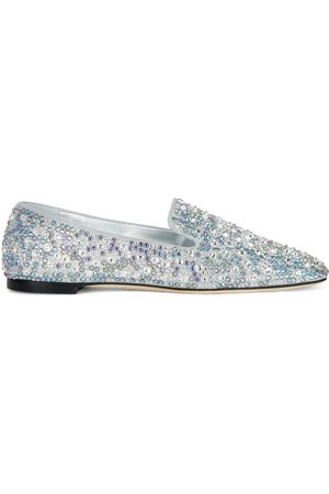 Giuseppe Zanotti Lumineux embellished loafers
