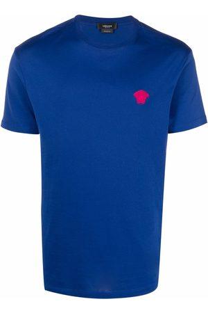 VERSACE Medusa embroidered short-sleeve T-shirt